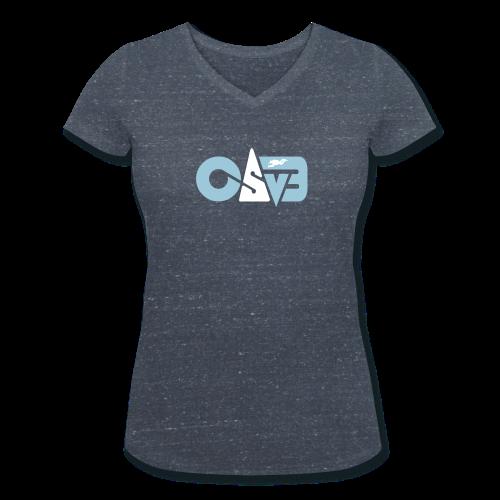 CAVE edition Wms - Frauen Bio-T-Shirt mit V-Ausschnitt von Stanley & Stella