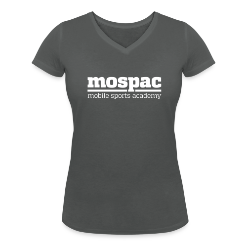 mospac woman - Women's Organic V-Neck T-Shirt by Stanley & Stella