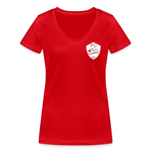 T-Shirt FCKO-Tradition W - Frauen Bio-T-Shirt mit V-Ausschnitt von Stanley & Stella