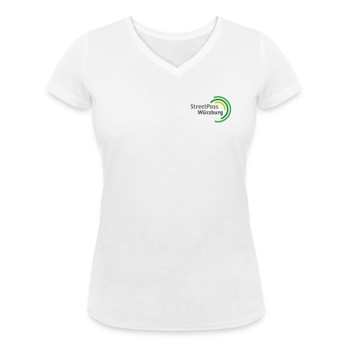 Frauen V-Hals Shirt - Frauen Bio-T-Shirt mit V-Ausschnitt von Stanley & Stella
