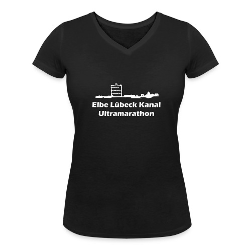 T-Shirt Frauen V-Ausschnitt ELK Logo - Frauen Bio-T-Shirt mit V-Ausschnitt von Stanley & Stella