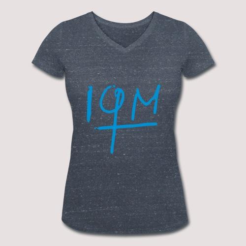 IQM Damen TShirt - Frauen Bio-T-Shirt mit V-Ausschnitt von Stanley & Stella