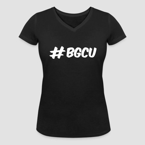 #bgcu Damen Shirt - Frauen Bio-T-Shirt mit V-Ausschnitt von Stanley & Stella