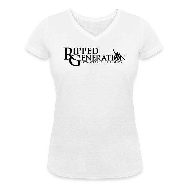 Naisten V-Aukollinen T-Paita Ripped Generation