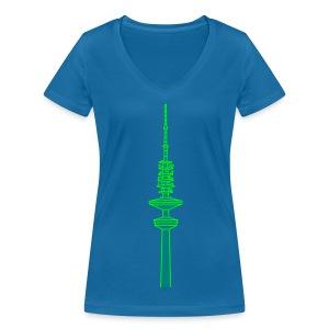 Hertz-Turm Hamburg 2 - Frauen Bio-T-Shirt mit V-Ausschnitt von Stanley & Stella