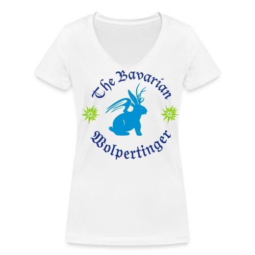 The Bavarian Wolpertinger - Frauen Bio-T-Shirt mit V-Ausschnitt von Stanley & Stella