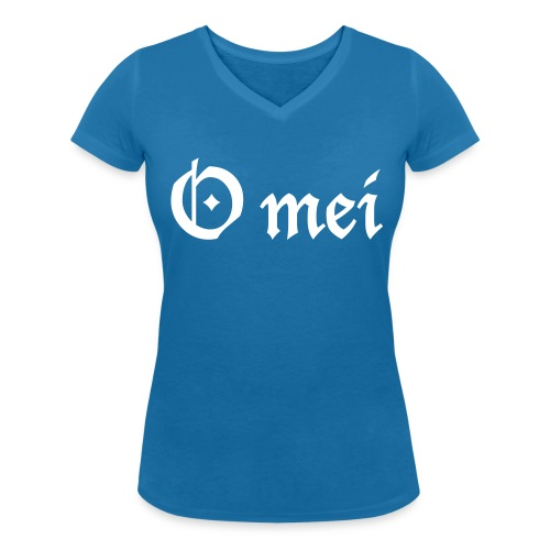 O mei - Frauen Bio-T-Shirt mit V-Ausschnitt von Stanley & Stella