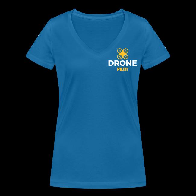 T-shirt V: Be Inspired (woman) | Blue