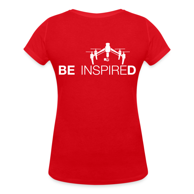 T-shirt V: Be Inspired (woman) | Red