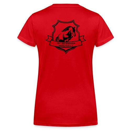 Reitverein Hasselfelde Frauen T-Shirt mit V-Ausschnitt - Frauen Bio-T-Shirt mit V-Ausschnitt von Stanley & Stella