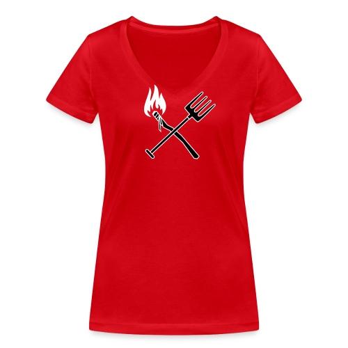 revolution ladies - Økologisk Stanley & Stella T-shirt med V-udskæring til damer