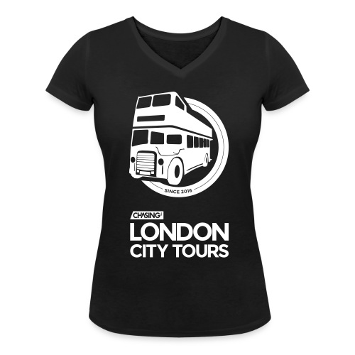 London City Tours for Girls - Frauen Bio-T-Shirt mit V-Ausschnitt von Stanley & Stella