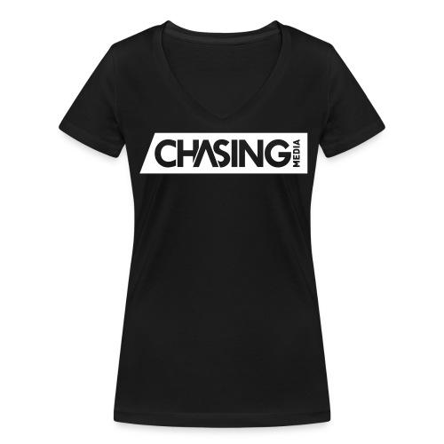 ChasingMedia for Girls - Frauen Bio-T-Shirt mit V-Ausschnitt von Stanley & Stella