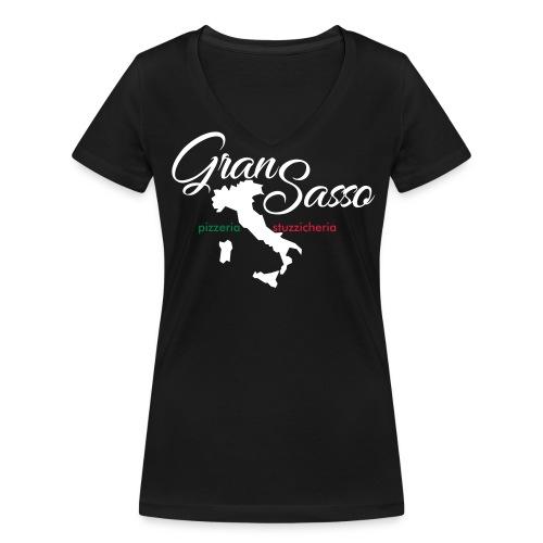 Gran Sasso Stiefel Donna V-Ausschnitt - Frauen Bio-T-Shirt mit V-Ausschnitt von Stanley & Stella