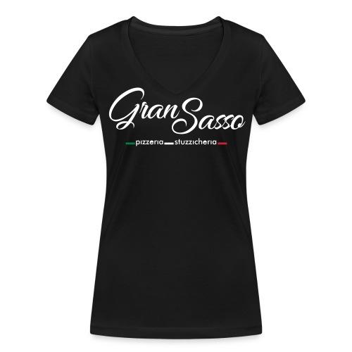 Gran Sasso Serife Donna - Frauen Bio-T-Shirt mit V-Ausschnitt von Stanley & Stella