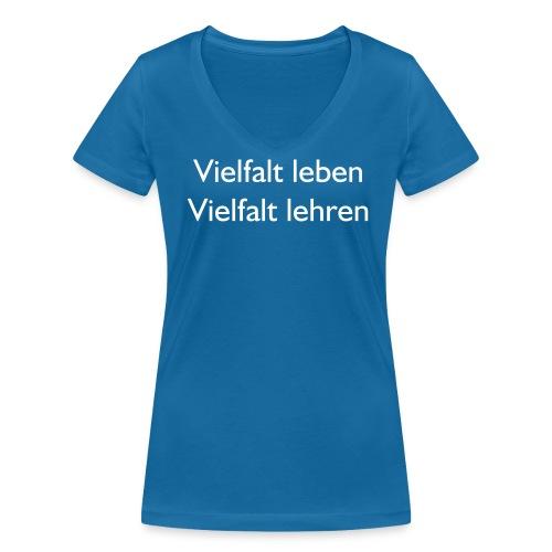 Lesbische Lehrerinnen Hamburg - Frauen Bio-T-Shirt mit V-Ausschnitt von Stanley & Stella