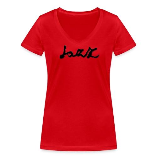 jaZZ design by Jazz - Vrouwen bio T-shirt met V-hals van Stanley & Stella