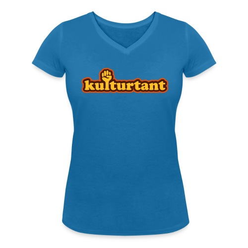 KULTURTANT - Ekologisk T-shirt med V-ringning dam från Stanley & Stella