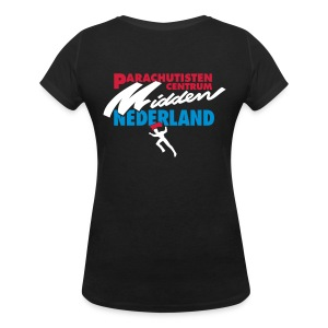 Vintage PCMN - Vrouwen bio T-shirt met V-hals van Stanley & Stella