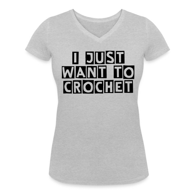 i just want to crochet