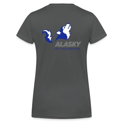 Alasky Logo - Frauen Bio-T-Shirt mit V-Ausschnitt von Stanley & Stella