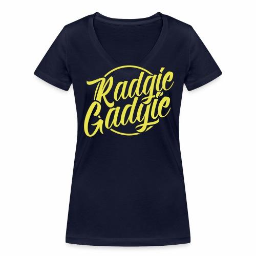 Radgie Gadgie Women's Organic V-Neck T-Shirt - Women's Organic V-Neck T-Shirt by Stanley & Stella