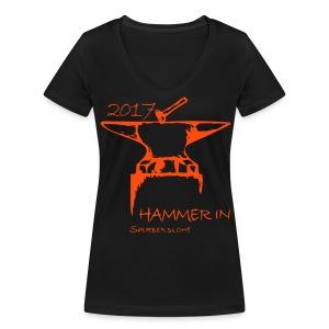 HAMMER IN T-Shirt - Frauen Bio-T-Shirt mit V-Ausschnitt von Stanley & Stella