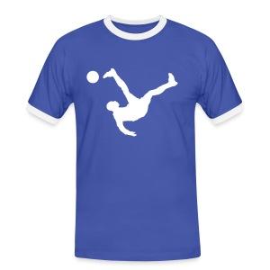 Fußball - Männer Kontrast-T-Shirt