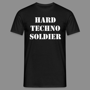 HT Soldier Men | Bassbottle Logo - Männer T-Shirt