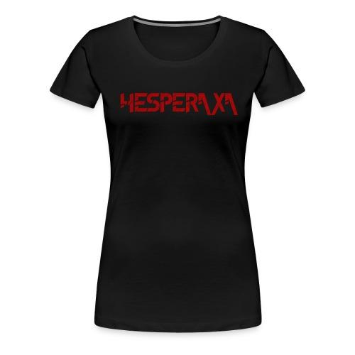 Distorted Hesperaxa women's t shirt - Women's Premium T-Shirt
