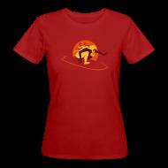 T-Shirts ~ Frauen Bio-T-Shirt ~ Bio-Shirt rot/orange