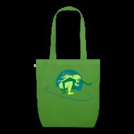 Taschen & Rucksäcke ~ Bio-Stoffbeutel ~ Bio-Stofftasche grün/grün