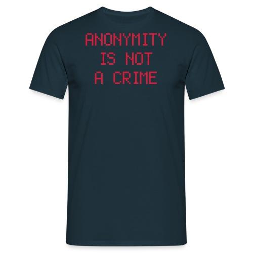 Anonymity - Men's T-Shirt