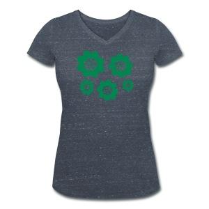 RETRO T-shirts - Ekologisk T-shirt med V-ringning dam från Stanley & Stella