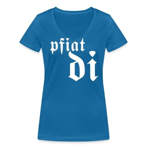 Pfiat di - Frauen Bio-T-Shirt mit V-Ausschnitt von Stanley & Stella