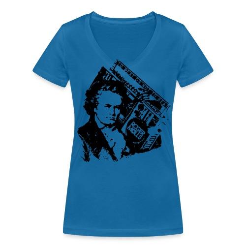 Gheetoven - T-shirt bio col V Stanley & Stella Femme