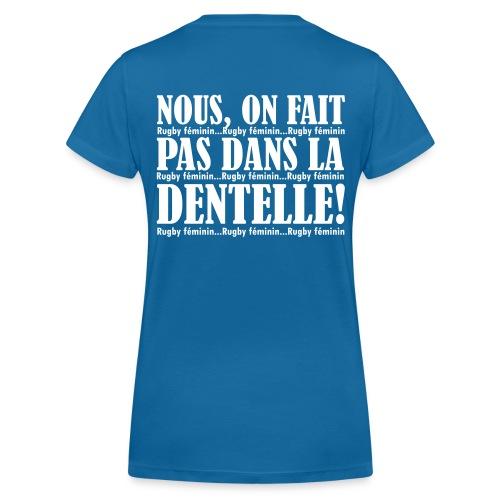 WOMEN'S RUGBY - T-shirt bio col V Stanley & Stella Femme