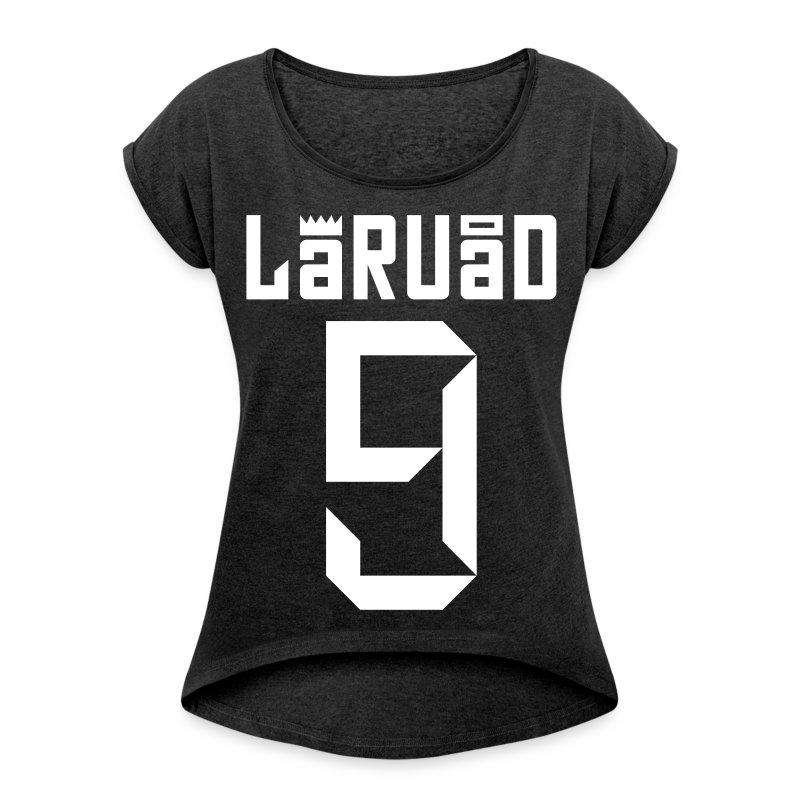 LARUAD NINE  M 2014 - Women's T-shirt with rolled up sleeves