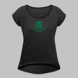 T-shirt femme (woman) Mac Laren's Pub - Women's T-shirt with rolled up sleeves