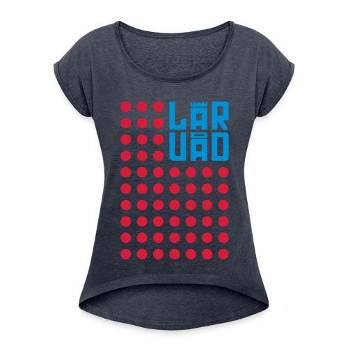 8 - T-shirt à manches retroussées Femme
