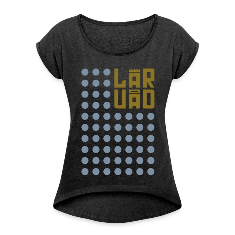 8 - Women's T-shirt with rolled up sleeves