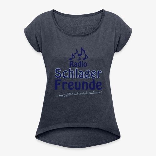 RSF Fanshirt - Frauen T-Shirt mit gerollten Ärmeln