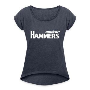 Hammers Shirt - Frauen T-Shirt mit gerollten Ärmeln