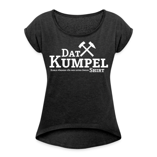 Dat Kumpel-Shirt Summer Damen - Frauen T-Shirt mit gerollten Ärmeln