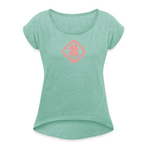 T-shirt à manches retroussées Femme - la douceur mène à tout,Lafay Athletics,Lafay,LDMT