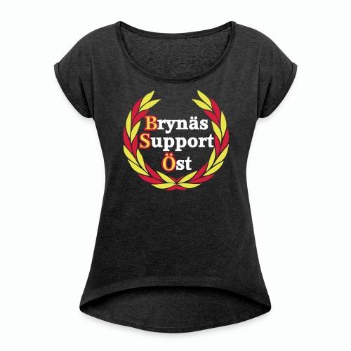 Brynäs Support Öst - Dam 1 - T-shirt med upprullade ärmar dam