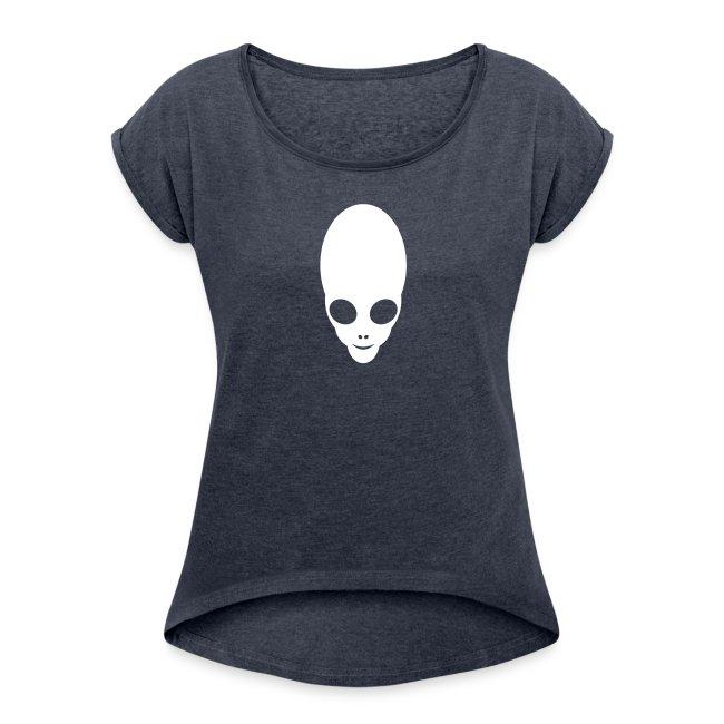 Alien Design Motiv - Girlshirt