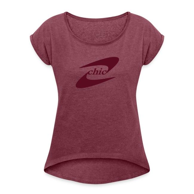 chic - Girlie Shirt bordeauxrot