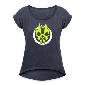 Freakx - Frauen T-Shirt mit gerollten Ärmeln