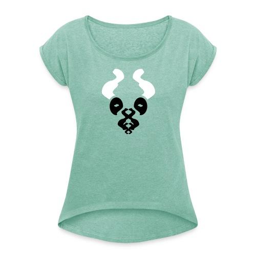 Scott - Frauen T-Shirt mit gerollten Ärmeln
